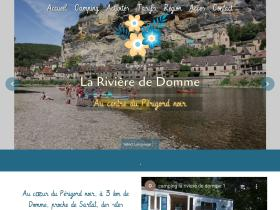 camping-riviere-domme.com