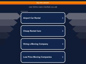 car-hire-van-rental.co.uk