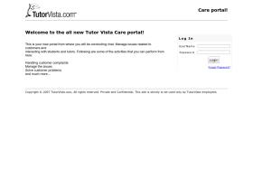 care.tutorvista.net