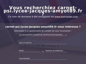 carnet-psi.lycee-jacques-amyot89.fr