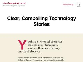 carrcommunications.com