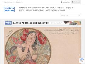 cartespostalesdecollection.com