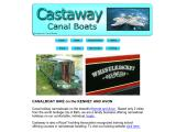 castawaycanalboats.co.uk