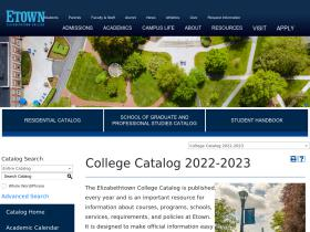 catalog.etown.edu