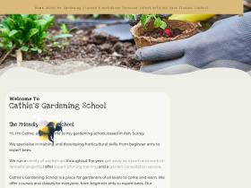 cathiesgardeningschool.co.uk
