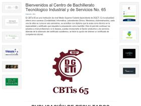cbtis65.edu.mx