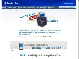cellphonebanking.standardbank.co.za