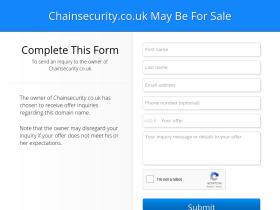 chainsecurity.co.uk