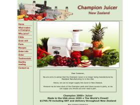 championjuicer.co.nz