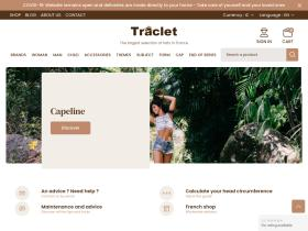 chapellerie-traclet.com