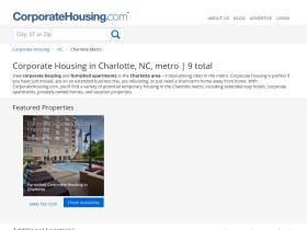 charlotte.corporatehousing.com