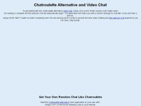 chatroulette-alternative-sites.com