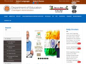 chdeducation.gov.in