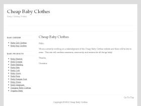 cheapbabyclothesonline.co.uk