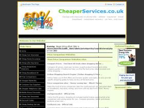 cheaperservices.co.uk