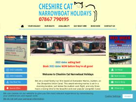cheshirecatnarrowboats.co.uk
