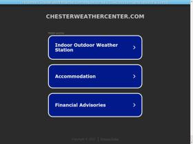 chesterweathercenter.com