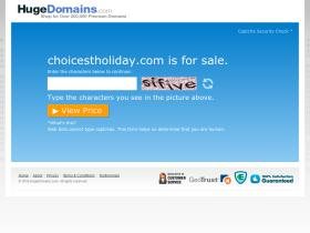 choicestholiday.com