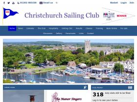 christchurchsailingclub.co.uk