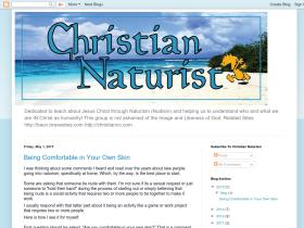 christiannaturism.blogspot.com