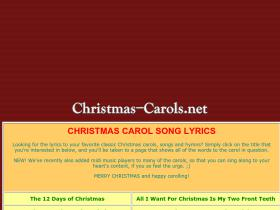 christmas-carols.net