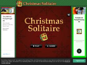 Christmas-solitaire com Analytics - Market Share Stats