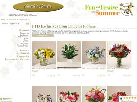 churchsflowers.com