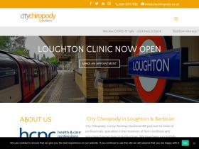 citychiropody.co.uk