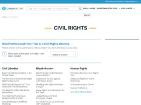 civil-rights.lawyers.com