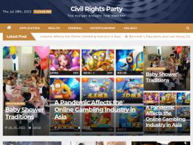 civilrightsparty.org