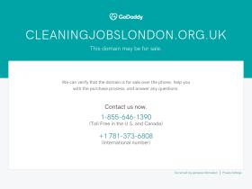 cleaningjobslondon.org.uk