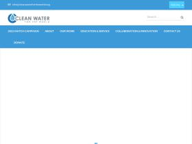 cleanwaterfortheworld.org