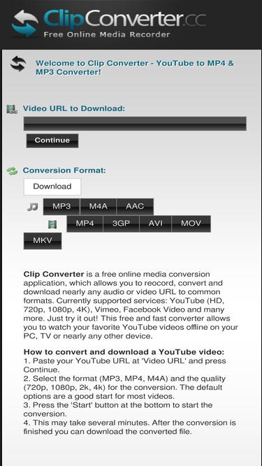 Clipconverter cc Analytics - Market Share Stats & Traffic