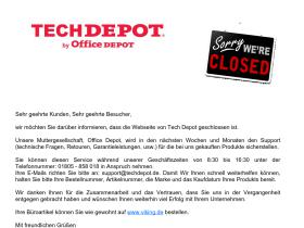 closed.techdepot.de