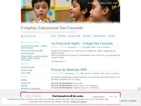 colegiosancrescente.wordpress.com