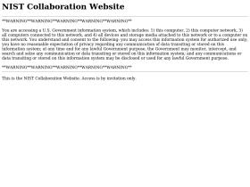 collaborate.nist.gov