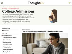 collegeapps.about.com