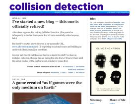 collisiondetection.net