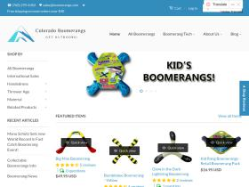 coloradoboomerangs.com