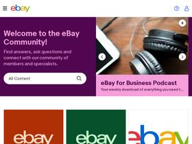 Community Ebay Ca Analytics Market Share Stats Traffic Ranking