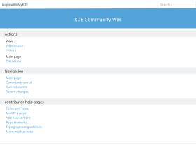 community.kde.org