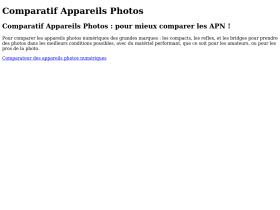 comparatif-appareils-photos.fr