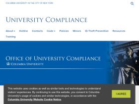 compliance.columbia.edu