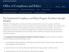 compliance.georgetown.edu