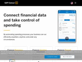 Concur com Analytics - Market Share Stats & Traffic Ranking