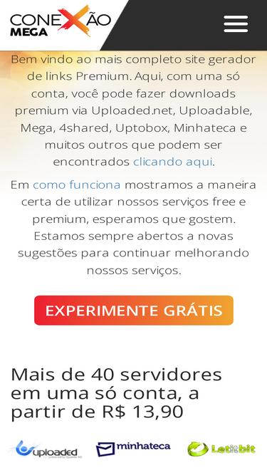 gerador premium mega