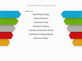 consumers-survey-group.org