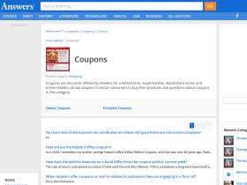 coupons.answers.com