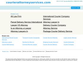 courierattorneyservices.com