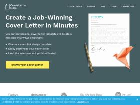 Cover Letter Now Analytics